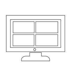 Channel tv icon design vector