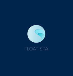 Float spa logo vector