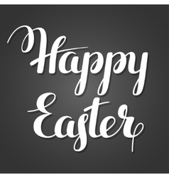 Happy Easter lettering Concept can be used for vector