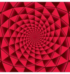 Infinite spiral elements vector image