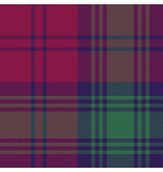 Lindsay tartan fabric textile check pattern vector