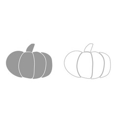 Pumpkin it is icon vector