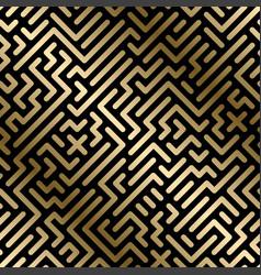 seamless geometric luxury pattern vector image