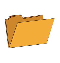 system folder database vector image vector image