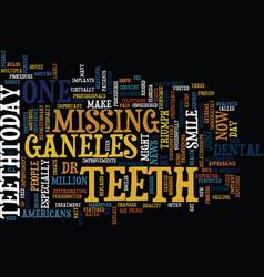 Teethtoday triumph text background word cloud vector
