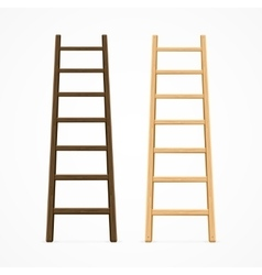 Set of Various Ladders vector image vector image