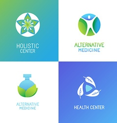 set of emblems and logo design templates vector image vector image