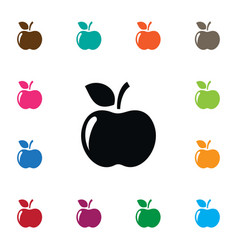 isolated apple icon jonagold element can vector image