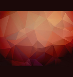 Serious modern red brown triangular background vector