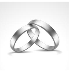 Silver Rings vector