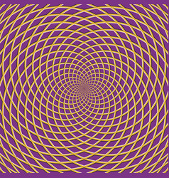 concentric optical background vector image