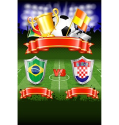 Soccer Poster vector image