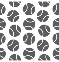 tennis seamless pattern for boy Sports balls on vector image vector image
