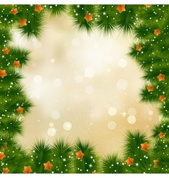 New year and cristmas card EPS 10 vector image vector image