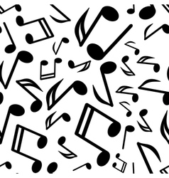 notes seamless background vector image vector image