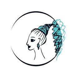 girl or woman vector image
