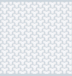 abstract seamless geometric background white vector image