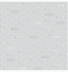 abstract weathered texture old white brick wall vector image