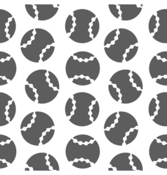 Baseball seamless pattern for boy Sports balls on vector