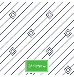 Diagonal stripped geometric seamless pattern vector