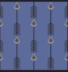 ethnic pattern it depicts a stylized arrow vector image