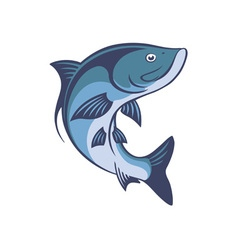 fish tarpon vector image