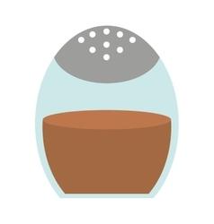 ground cinnamon isolated icon design vector image