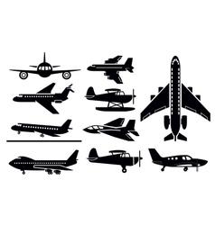 Planes icon vector