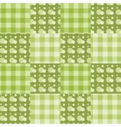 seamless patchwork vector image vector image
