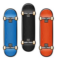 Skateboard cartoon isolated design vector