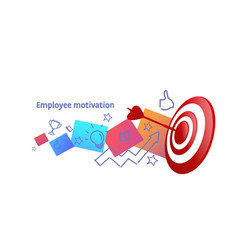 successful business strategy achieving career vector image