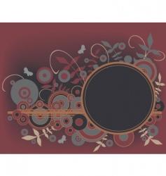 circles element vector image
