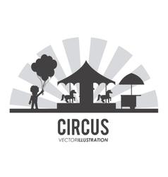Carousel icon design vector