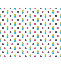 dirty colored dots on white background purple vector image