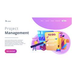 Task management it concept vector