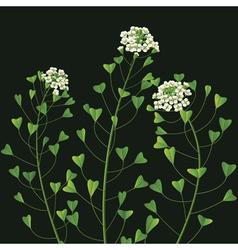Weed flower vector