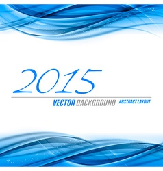 Blue Background 2015 vector image vector image