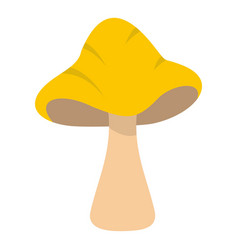 Big mushroom icon isolated vector