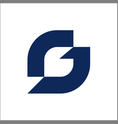 G letter abstract logo design template creative vector