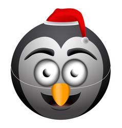 Happy christmas emoji vector