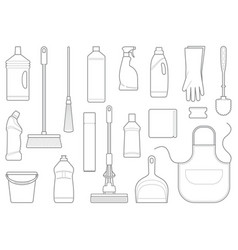 leaning icons vector image