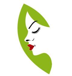 Logo For Ladies Fertility Center vector image