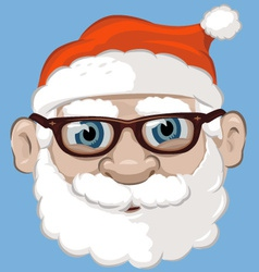 Santa claus mask vector