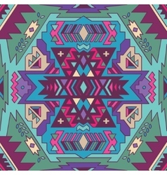 Seamless aztec pattern Ethnic background vector