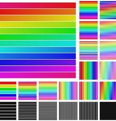 Square Logo Set vector image
