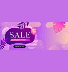 super sale web banner template for social media vector image