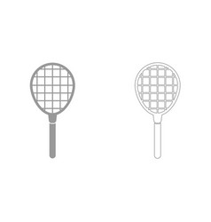 tennis racquet it is icon vector image