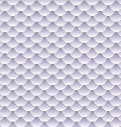 Seamless textured fish scale pattern vector image