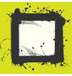 abstract frame for your text vector image vector image
