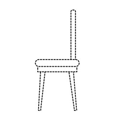 dining room chair icon vector image